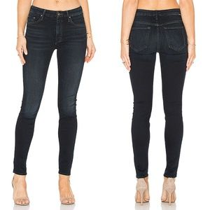 Mother High Waisted Looker Stretch Jeans